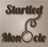 Startled Monocle logo